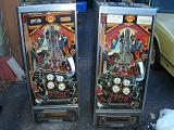Two Williams Firepower Pinball Machines