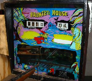 Midway Haunted House Rifle Game